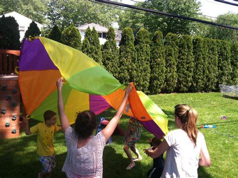 Parachute Canopy Tent Pacific Play Tents 10 Foot Rainbow Playchute Parachute Ttpm