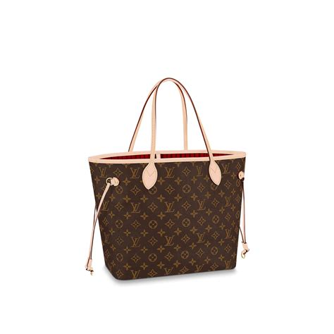 neverfull mm monogram canvas handbags louis vuitton