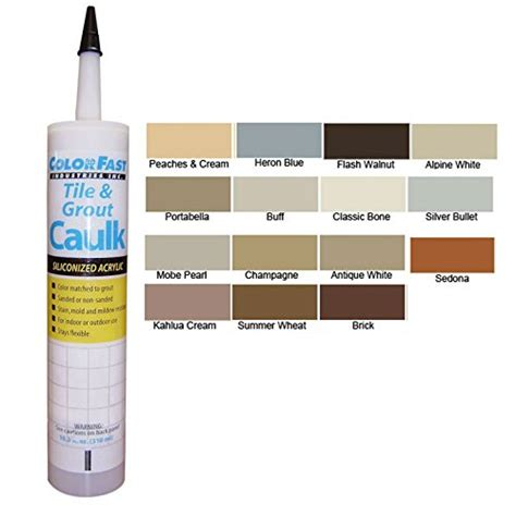 caulk colors bathtub and shower caulk best types and how to apply