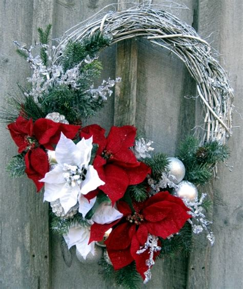 Painted Bedroom Furniture Ideas make a christmas wreath and decorate with natural