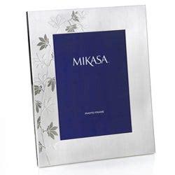 shop mikasa modern floral   picture frame