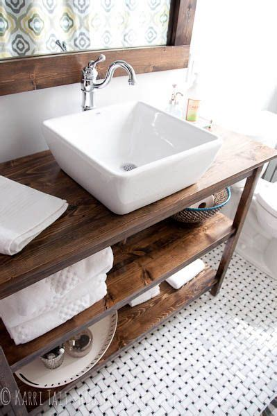 rustic sinks bathroom diy bathroom remodel rustic industrial custom vanity with