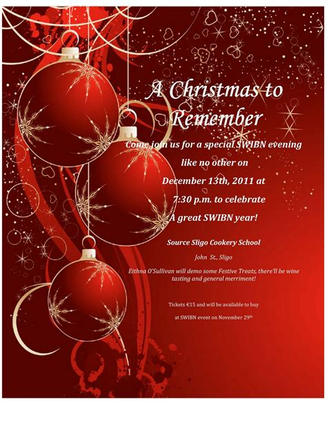 christmas party invitation wording invitation templates