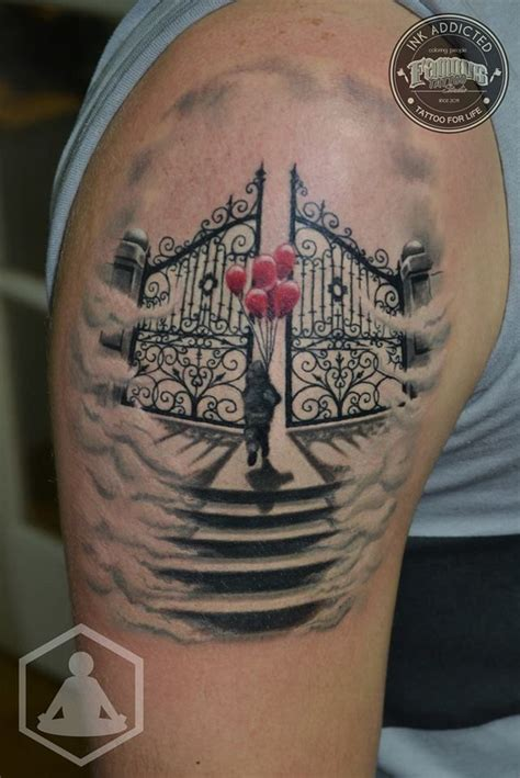 heaven gates tattoos 17 best ideas about heaven tattoos on stairway