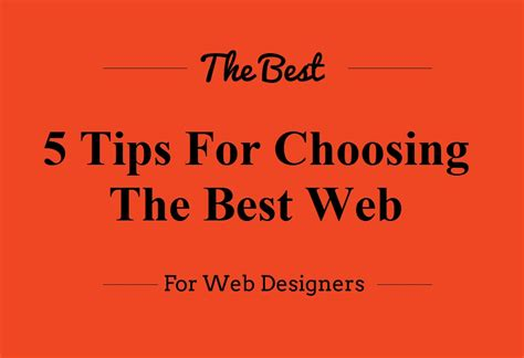 best web font 5 tips for choosing the best web font for your design