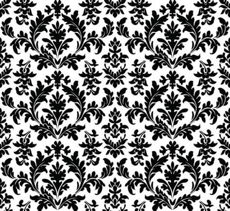 elegant wallpaper pattern black and white elegant vintage floral vector background 10988 welovesolo