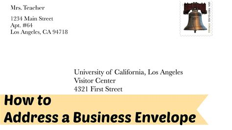 Address A Business Letter Envelope how to address a business formal letter envelope