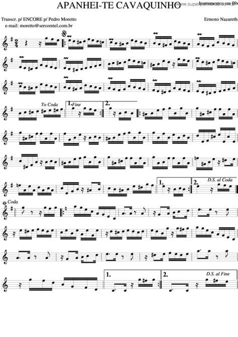 Super Partituras - Partituras de músicas para Cavaquinho