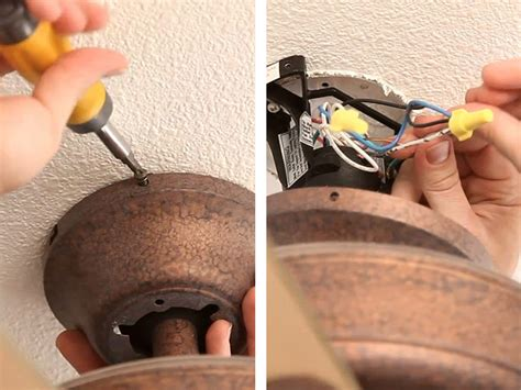 hton bay l shades removing ceiling fan images how to remove a hton bay flush