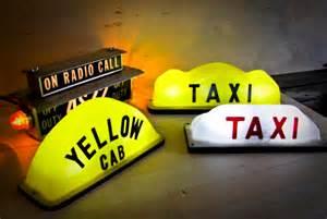 taxi top lights