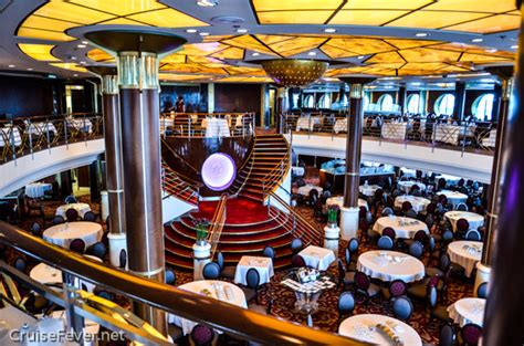 Dining Room Set For 12 by Celebrity Constellation Cruise Ship Review And Video Tour