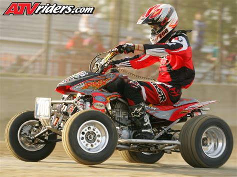 atv motocross racing interview harold goodman honda rage atv houser racing