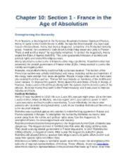 the age of absolutism section 1 quiz us history i honors final exam 2013 extra credit study