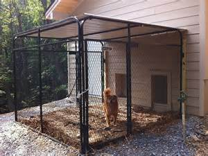 Dog Kennel In Garage by Outside K9 Kennel Multiple Dog Kennels Pinterest K9