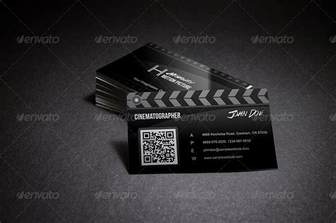 videographer business card template creative business card by taeef
