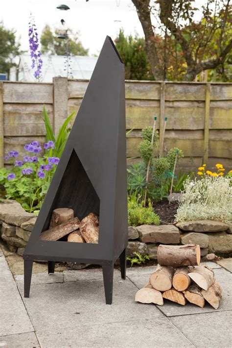 chiminea homebase patio chimenea modern patio outdoor