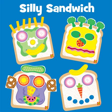 silly crafts for silly sandwich craft alexbrands
