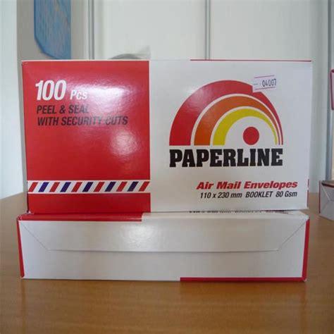 Pk001 Paking Kayu Ukuran Kecil paperline lop polos l per pack isi 100 s
