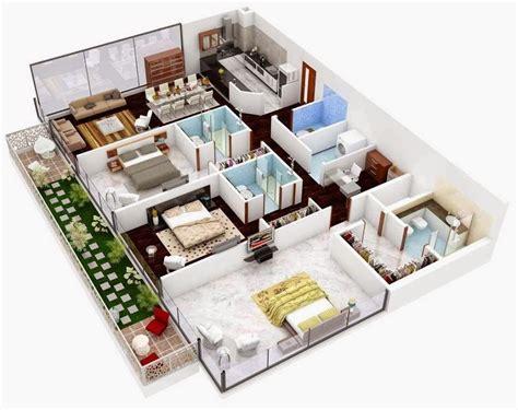 planos de casas en 3d 1000 images about planos de casas on bedroom apartment 3d and floor plans