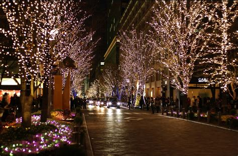 christmas illuminations in japan world for travel