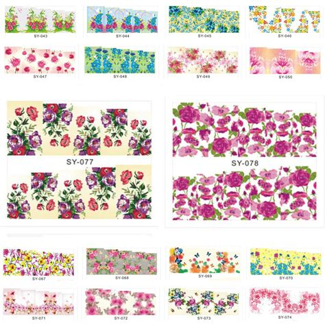 nail water decals Picture   More Detailed Picture about (SY001 SY084) Water Transfer Nail