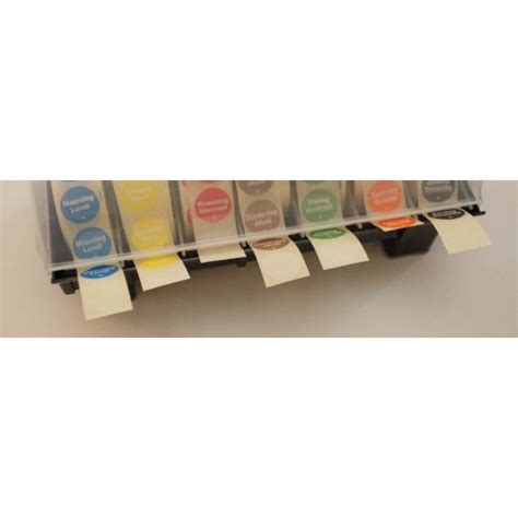 dispense haccp sticker dispenser haccp