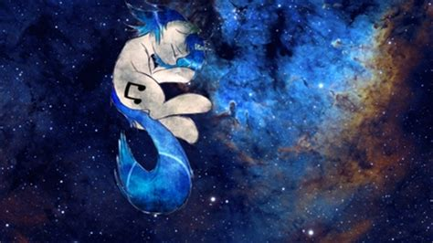 little space wallpaper outer space my little pony crying vinyl scratch dj pon3