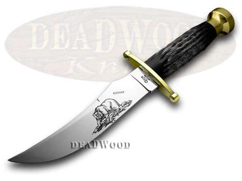 xx kodiak buffalo fixed blade knives ebay