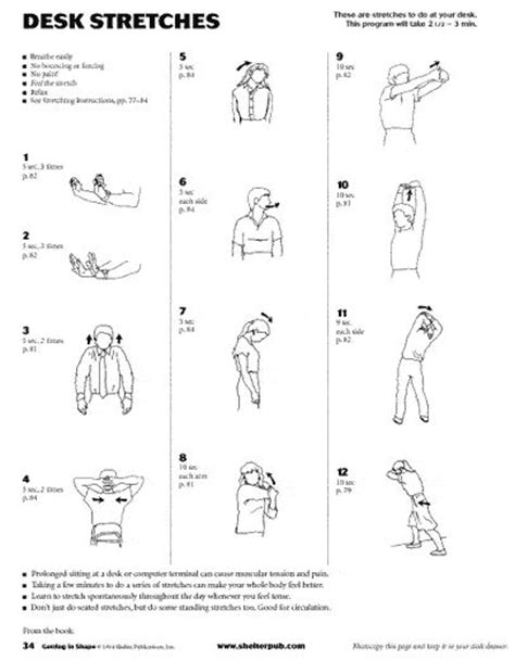 Isometric Desk Exercises by 129 Best Health Isometric Exercises Images On