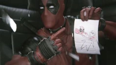 deadpool leaked footage deadpool test footage released media mouse