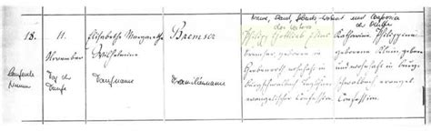 Nassau Germany Birth Records The Bremsers Or Broemsers Of America And Nassau Hessen Germany
