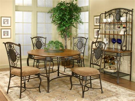 wrought iron dining room furniture black wrought iron dining chair chair pads cushions