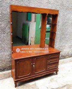 Tilavie Meja Telepon Brown pengumuman jual meja rias minimalis vintage jati murah