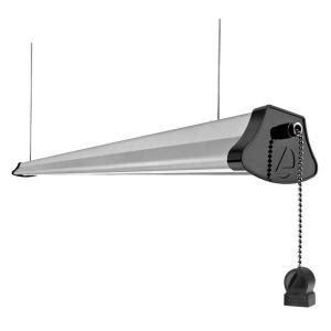 3 foot led shop light lithonia lighting 4 ft integrated 40 watt gray led cable