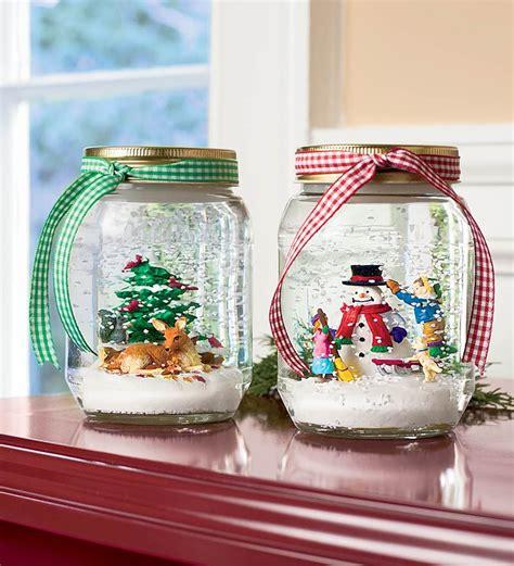 diy snow globes  ideas homemade christmas gifts