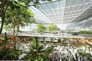 Eco House Design Plans Uk taiwan taoyuan international airport reveals jungle design