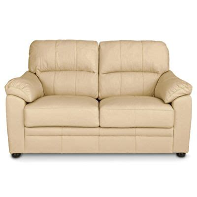 buy two seater sofa buy valencia small 2 seater leather sofa cream from our