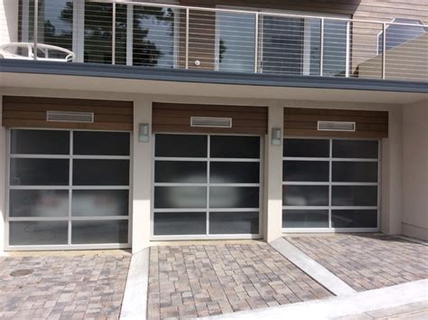 avante garage doors avante collection glass garage doors
