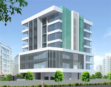 create a building commercial building parle mumbai vsk architects
