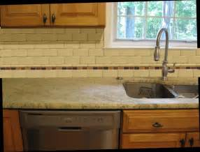 Kitchen Subway Backsplash Top 18 Subway Tile Backsplash Design Ideas With Various Types