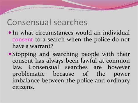 Consent To Search Searches Criminal Procedure In Kenya