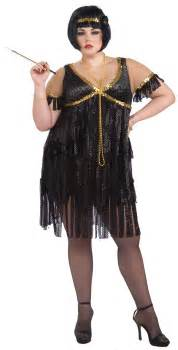 Womens flapper plus size costume costume craze