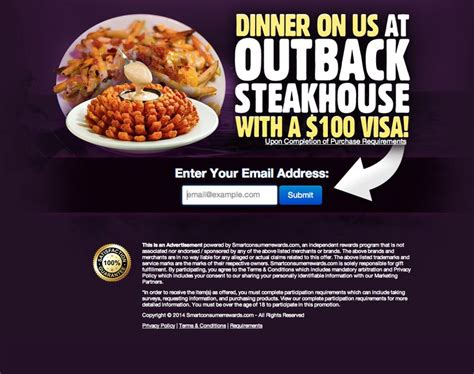Outback Steakhouse Gift Card Promo - outback steakhouse gift card muki pinterest gift cards money and marketing