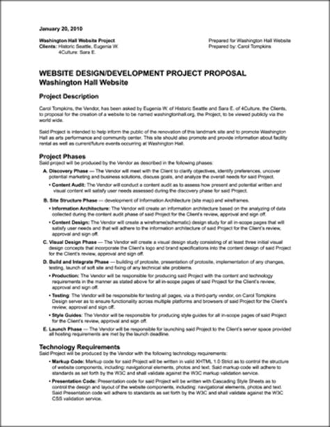 design project proposal guidelines carol tompkins design 187 washington hall case study