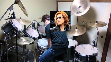 x japan week end live ver week end x japan drum cover live ver youtube