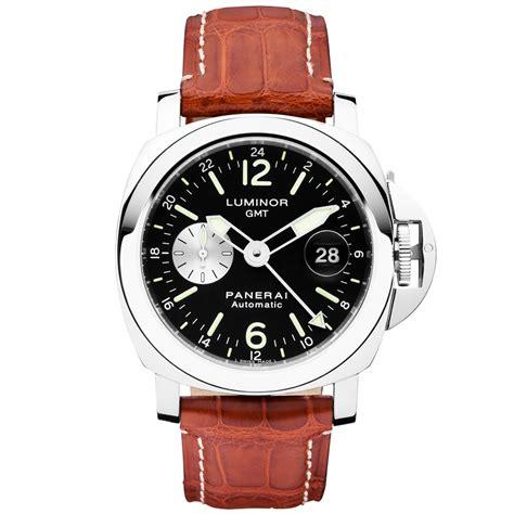 Luminor Panerai Gmt Black Premium officine panerai luminor gmt 44mm black s leather