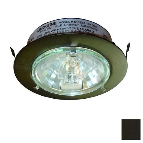 Shop Dals Lighting 2 75 In Hardwired Plug In Under Cabinet Halogen Cabinet Lighting