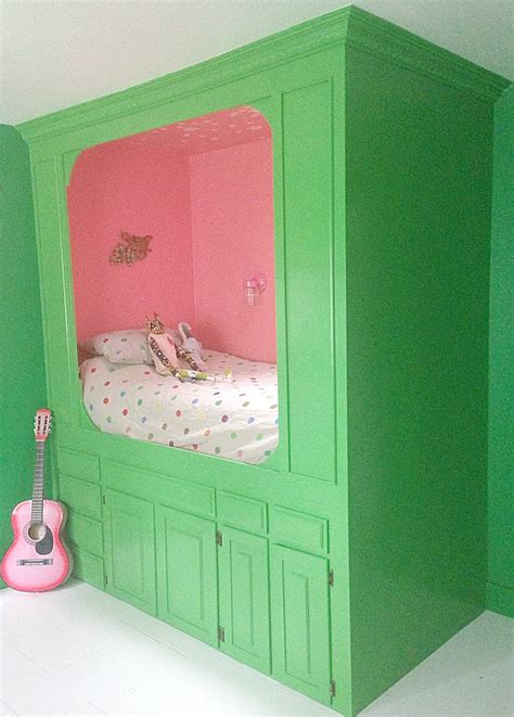 Repurposing Kitchen Cabinets by Repurpose Cabinets Into A Magical Built In Bed Design