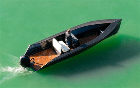 small boat tender say power small carbon tender for both lake and sea