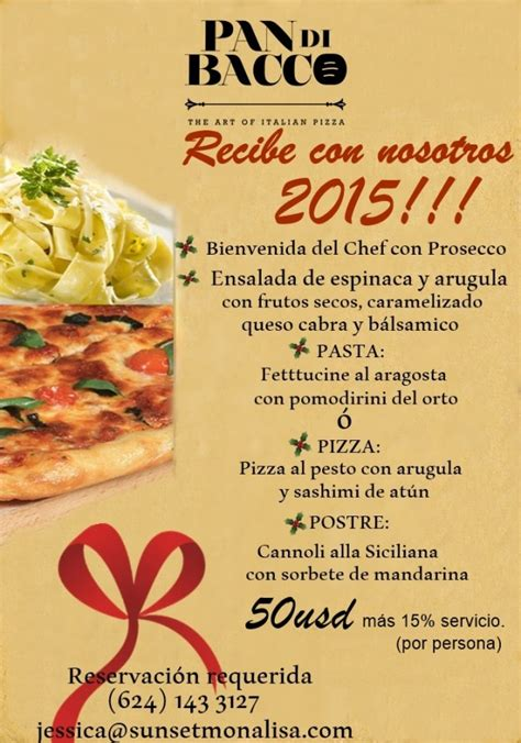 new year dinner 2015 new year dinner 2015 pan di bacco events los cabos